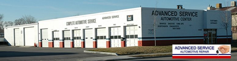Advanced Service Automotive Repair Building